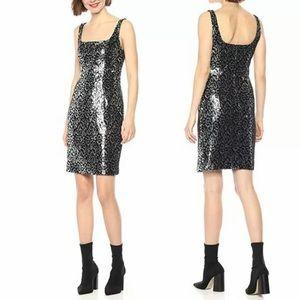 Black Halo • Lilo Sheath Sequin Dress